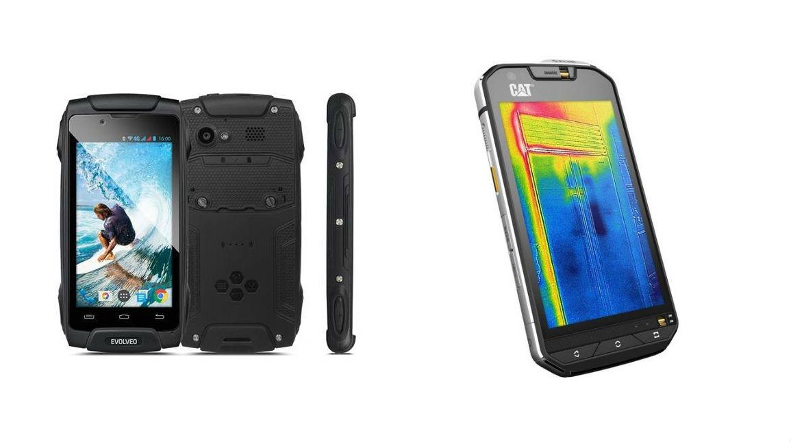 Odolné, pracovní a outdoorové mobilní telefony