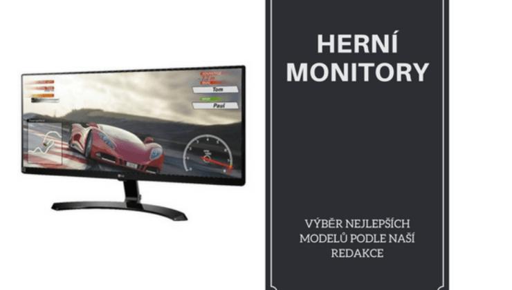 Nejlepší herní monitory