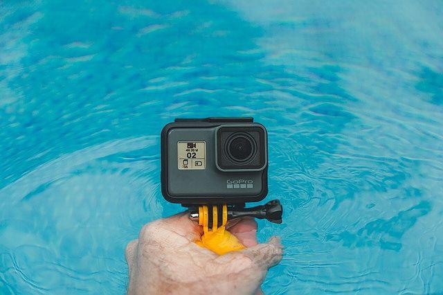 akční kamery jsou ve většině případů vodotěsné