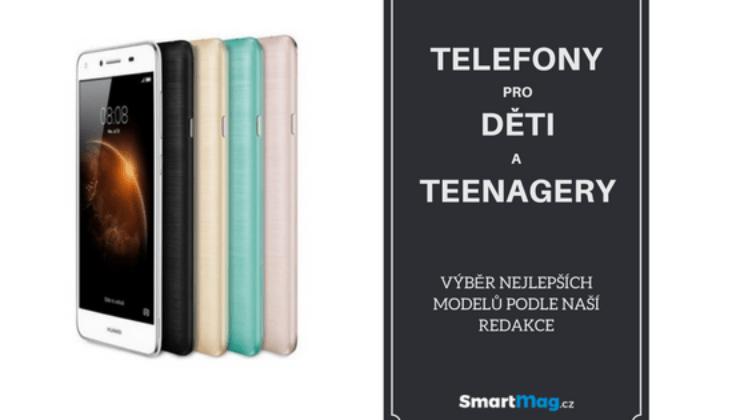 Nejlepší telefony pro děti a teenagery