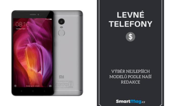 Nejlepší levné mobily / telefony