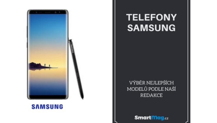 Nejlepší mobilní telefony Samsung