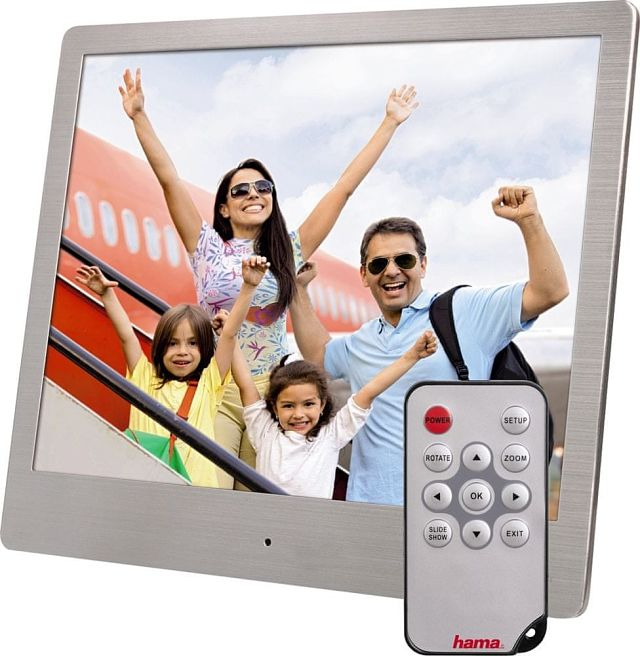 Hama Steel Basic 8SLB digitální fotorámeček