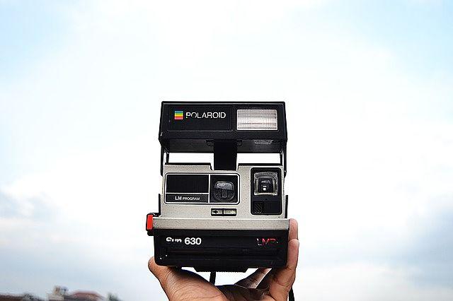 fotoaparát značky Polaroid