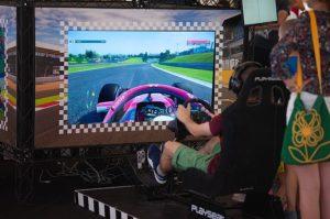 Závodní simulátor - volant