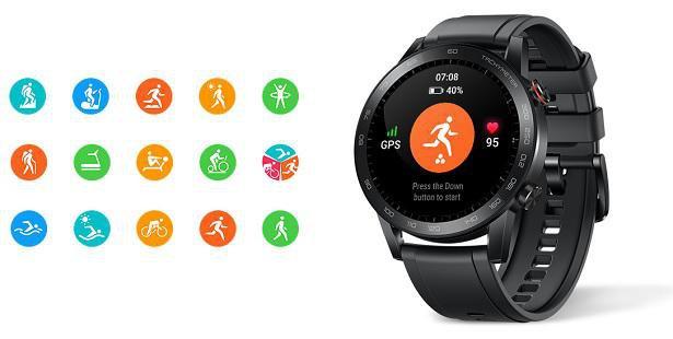 Předinstalované aplikace Honor Magic Watch 2