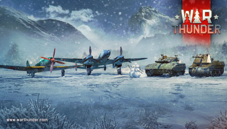 War Thunder online hra
