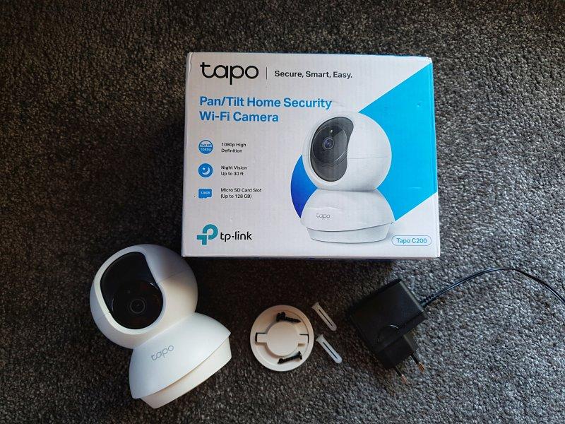 TP-Link Tapo C200 obsah baleni