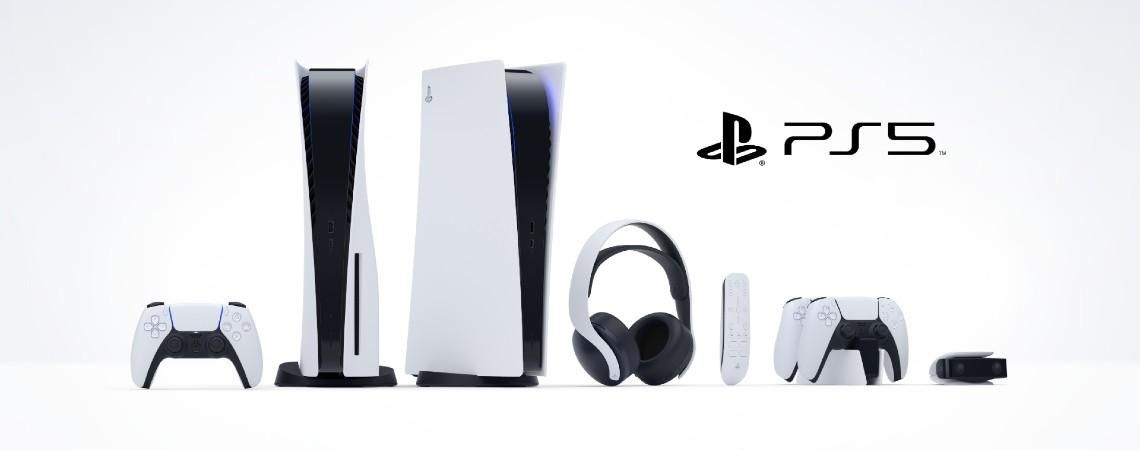 PS5 s příslušenstvím