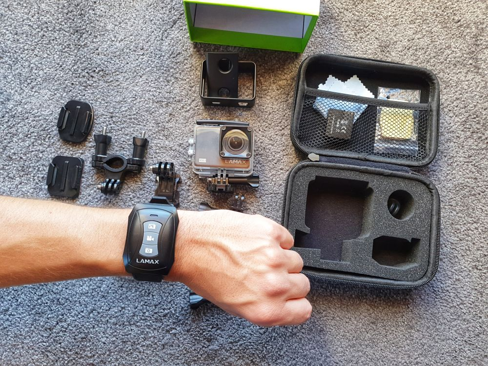 Akční kamera Lamax X10.1 hodinky