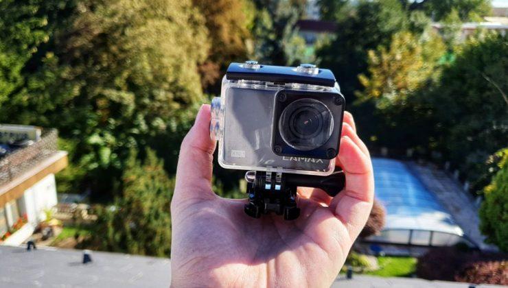 Akční kamera Lamax X10.1 - pohled zepředu