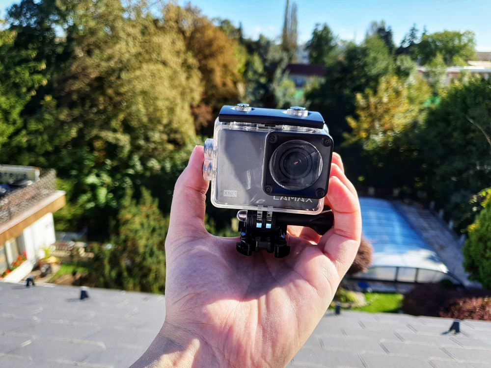 recenze akční kamery LAMAX X10.1