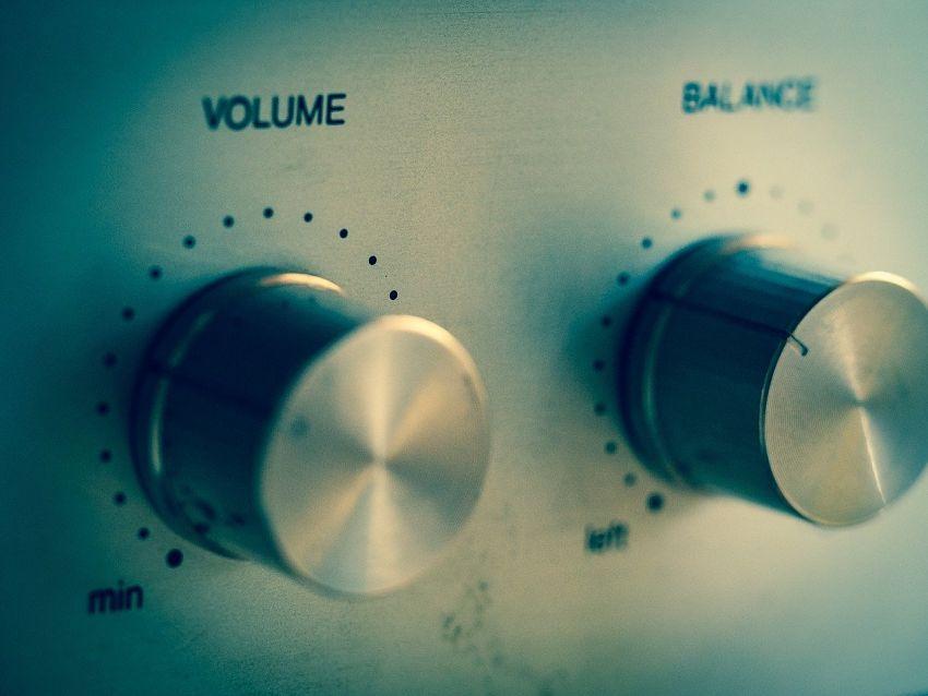 PC reproduktory volume