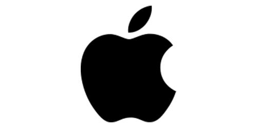 logo - nakousnuté jablko Apple