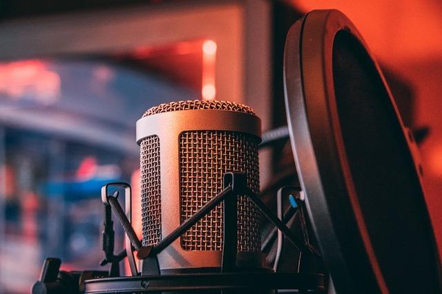 Mikrofon do studia